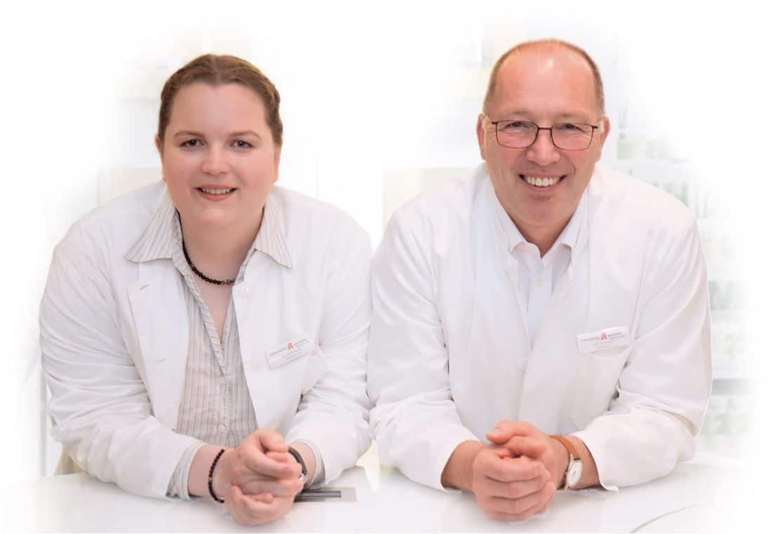 Johanna Witkopp und Dieter Werner